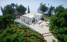 Modern Concept House Minecraft Map & Project