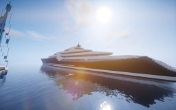 Mega Yacht Minecraft Project