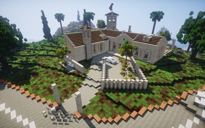 Spanish Villa Minecraft Project