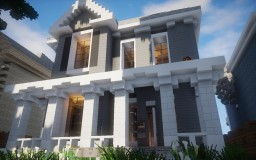 4 Square House Minecraft Map & Project