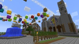 MiddleAge Town +++ with Secrets Minecraft Project