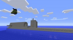 The sinking of the USS Columbus story Minecraft Project