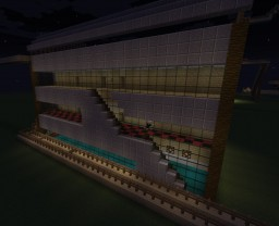 Big House with six lofts Minecraft Project