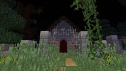 Entrance to the 2017 Halloween Build Contest Minecraft Map & Project