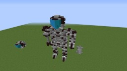 Robot Statue With Bowmanimmortal Minecraft Map & Project