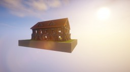 European House Minecraft Map & Project