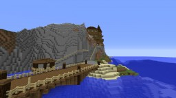 Cliff Side Mansion Minecraft Map & Project