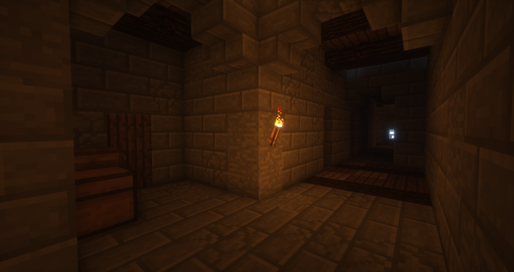 Did I mention passage ways Featuring a bathroom on the left
