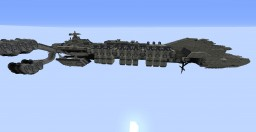 StarShip Troopers: John A. Warden SpaceCraft Minecraft Project