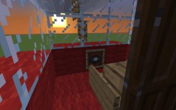 Snoopy met life blimp in minecraft! Minecraft Project