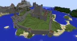 My first castle Minecraft Project