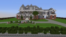 mansion chateau Minecraft Project