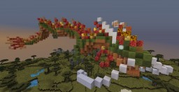 Small Chinese Dragon Minecraft Project