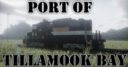 POTB Port of Tillamook Bay railroad locomotives and rolling stock Minecraft