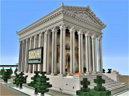 Corinthian Roman Temple Minecraft Project