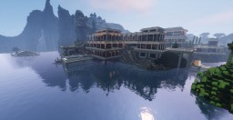 Cliffside Mansion Minecraft Project