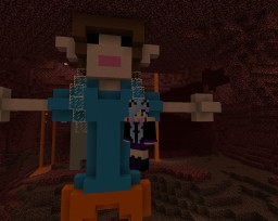 Ultimate Playz Pat and Jen 2Player Minecraft Map & Project
