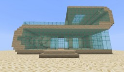 Beach House #1 Minecraft Project