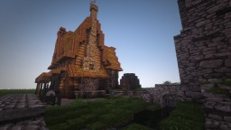"Skyrim ""Whiterun"" Project Minecraft"