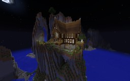 Mountain Medieval House Minecraft Map & Project