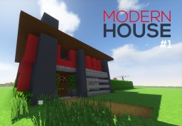 Modern House #1 Minecraft Project