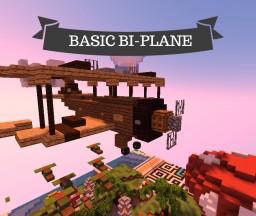 Basic Bi-Plane - Plot Build #2 🌙 Minecraft