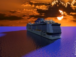 MSC Meraviglia Plus 1:1 Scale Minecraft Project