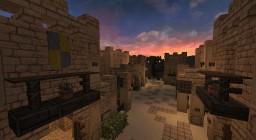 Al Hazhir Desert Town Minecraft Project