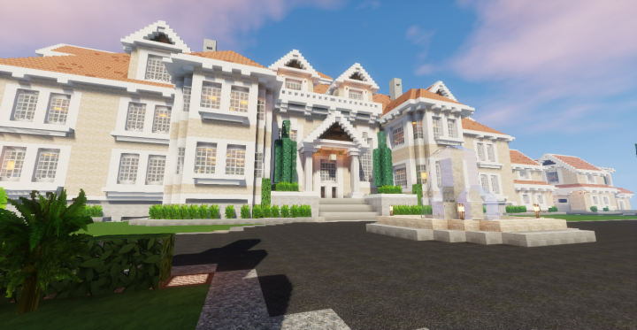 Beach Side B Amp B Resort Amp Mansion Minecraft Project