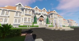 Beach-side B&B Resort & Mansion Minecraft Project