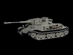 PzKpfw VI Tiger (P) Minecraft Project