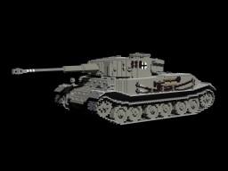 PzKpfw VI Tiger (P) Minecraft Map & Project