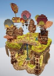 nιce ѕĸyвlocĸ ιѕland Minecraft Map & Project