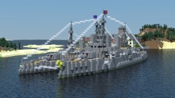 Algonda-class battleship Minecraft Project