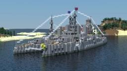 [OIR] Algonda-class battleship Minecraft Map & Project