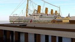 HMHS Britannic at Southampton Minecraft Project