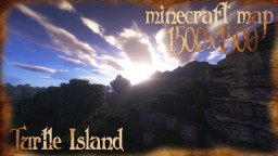 Turtle Island - World Painter Minecraft Project
