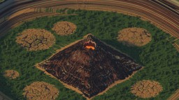 volcano thingy Minecraft