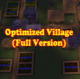 Optimized Village (Full) Minecraft Project