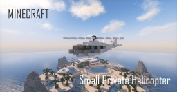 Small Private Helicopter (full interior) Minecraft Project