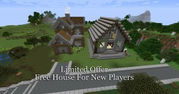 Free House Project Minecraft Map & Project
