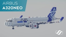 Airbus A320neo Minecraft Project