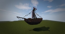 18th Century | Small Gunner Boat Minecraft Map & Project
