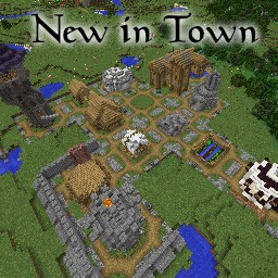 [Discontinued] New in Town: Kingdoms Minecraft Map & Project