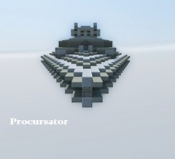 Procursator-Class Star Destroyer Minecraft Map & Project
