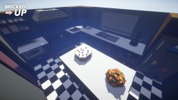 Life Sized Kitchen Minecraft Map & Project