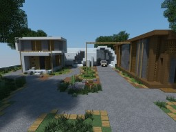 Luxury Life Modern House | Download Minecraft Map & Project
