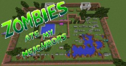 """Zombie ate my Neighbors"" remade in Minecraft Minecraft Project"