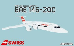 British Aerospace BAE 146-200 - SwissAir Minecraft