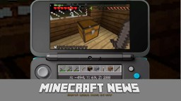MINECRAFT NEWS | Minecraft on 3DS, Minecon announcements, Java Edition 1.12.1 out! Minecraft Blog Post